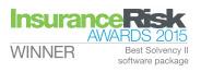 Insurance Risk Awards 2015 Winner